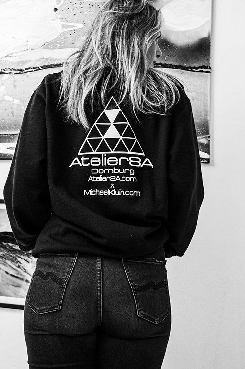 Sweater | Black | Unisex | Customized