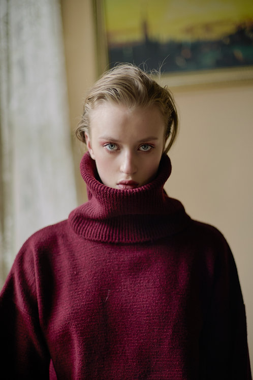 Polo Neck Knitwear