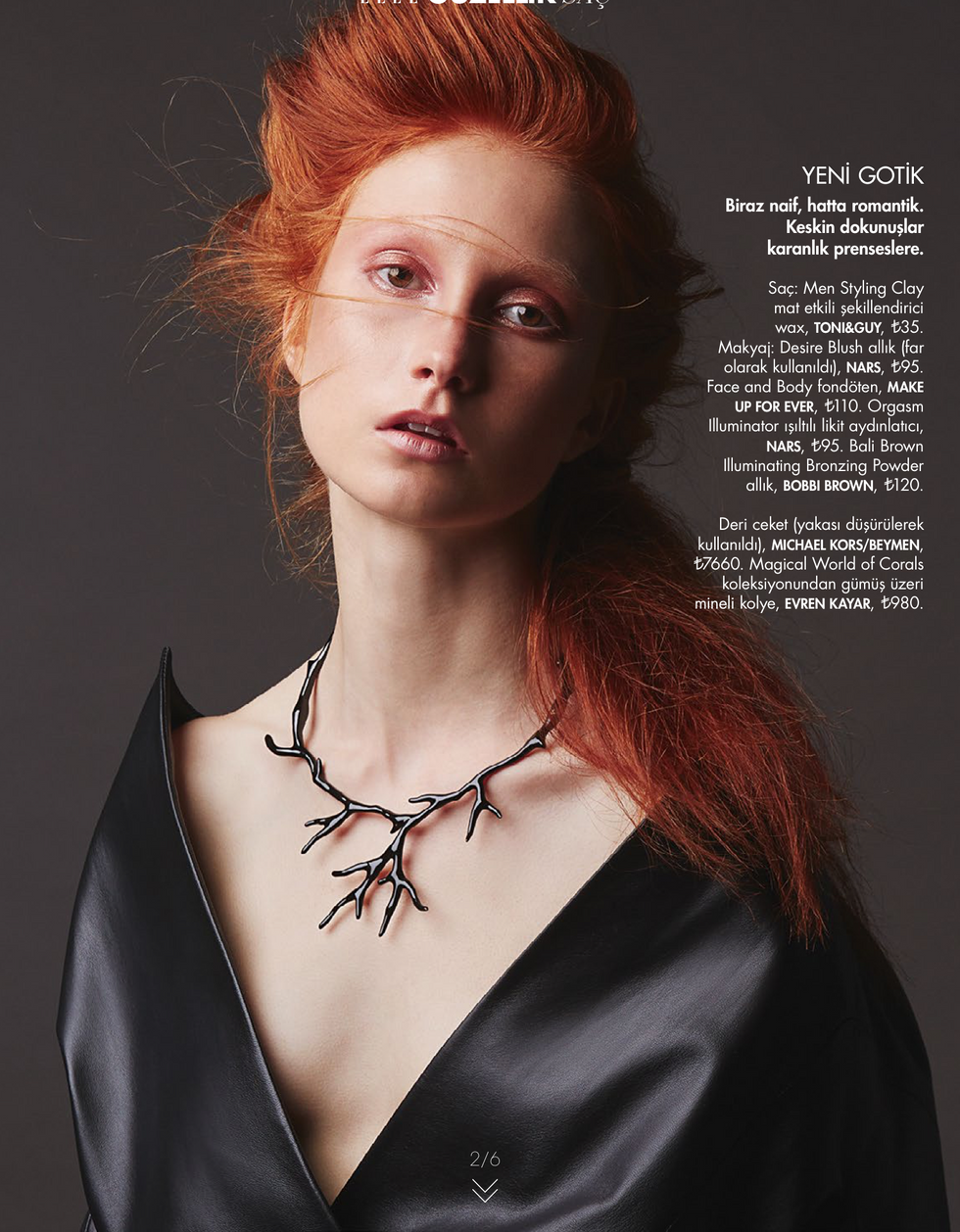 Elle Turkey November Beauty Issue 2015-2