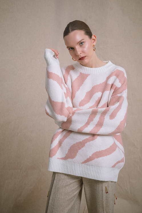 Crewneck  Knitwear with Pattern