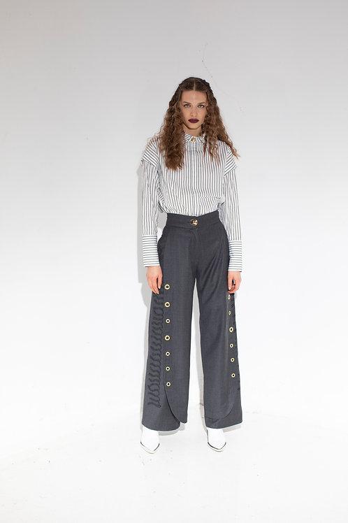 'Double' Paça Pantolon