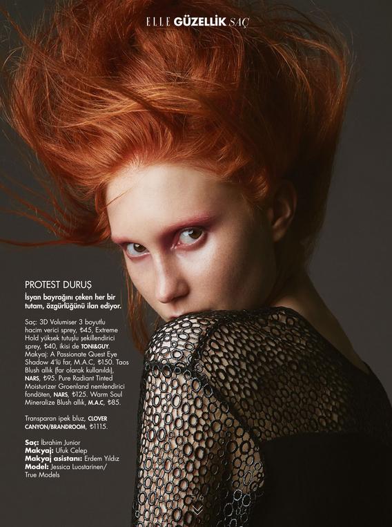 Elle Turkey November Beauty Issue 2015-5
