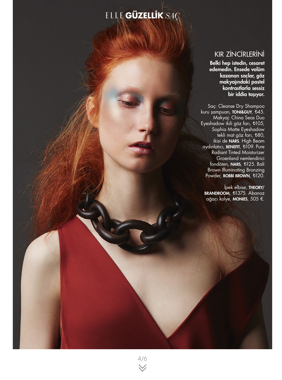 Elle Turkey November Beauty Issue 2015-4