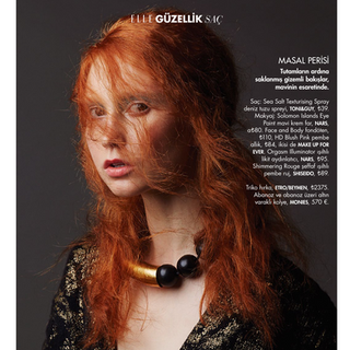 Elle Turkey November Beauty Issue 2015