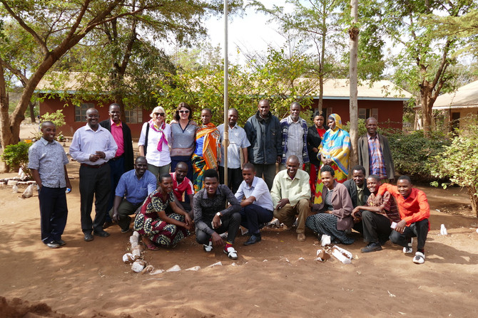 The LBW Trust visits So They Can in Tanzania