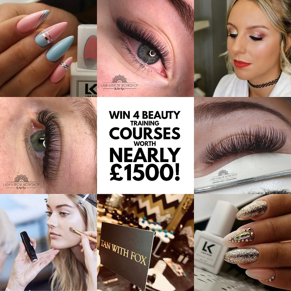 Win Beauty Training Course - New Year New Career - Torquay Torbay Devon