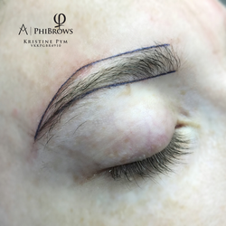 PhiBrows Microblading Pre Draw