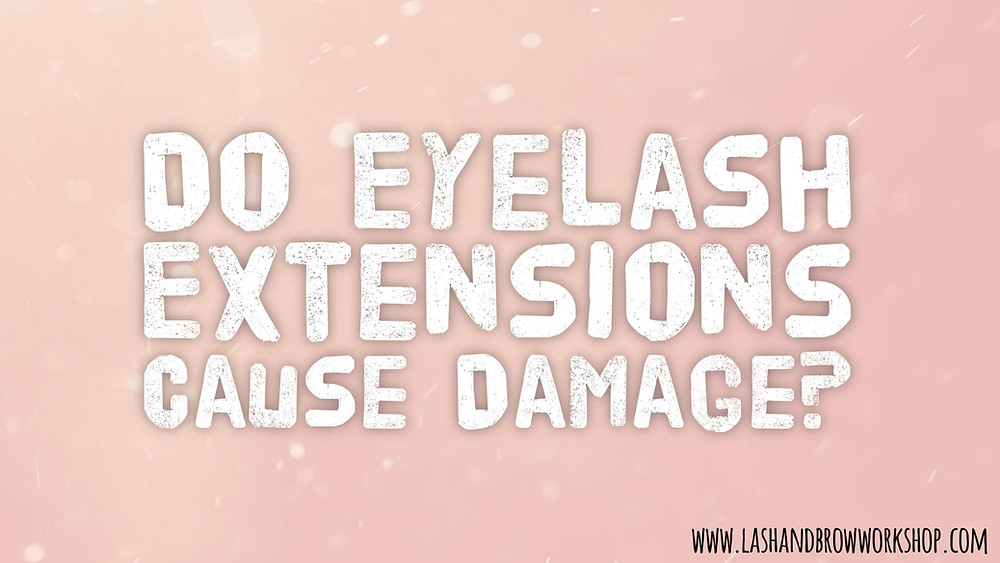 Kris Romsee from Lash & Brow Workshop in Torquay, Devon explains why Semi Permanent Individual Eyelash Extensions do not cause damage to your natural eyelashes.