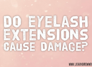 Will Individual Eyelash Extensions Damage Your Natural Lashes?