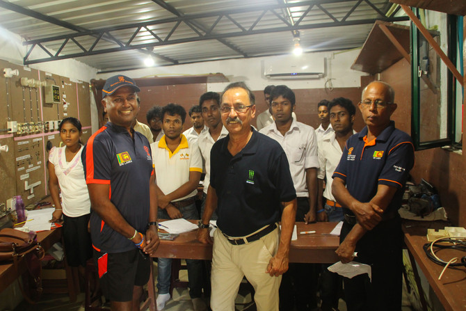 LBW Trust Director Ron Holmes visits the Foundation of Goodness, Sri Lanka