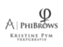PhiBrows Artist Kristine Pym Logo