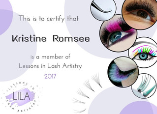 Member of Lessons In Lash Artistry