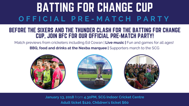 Batting for Change is having a party!