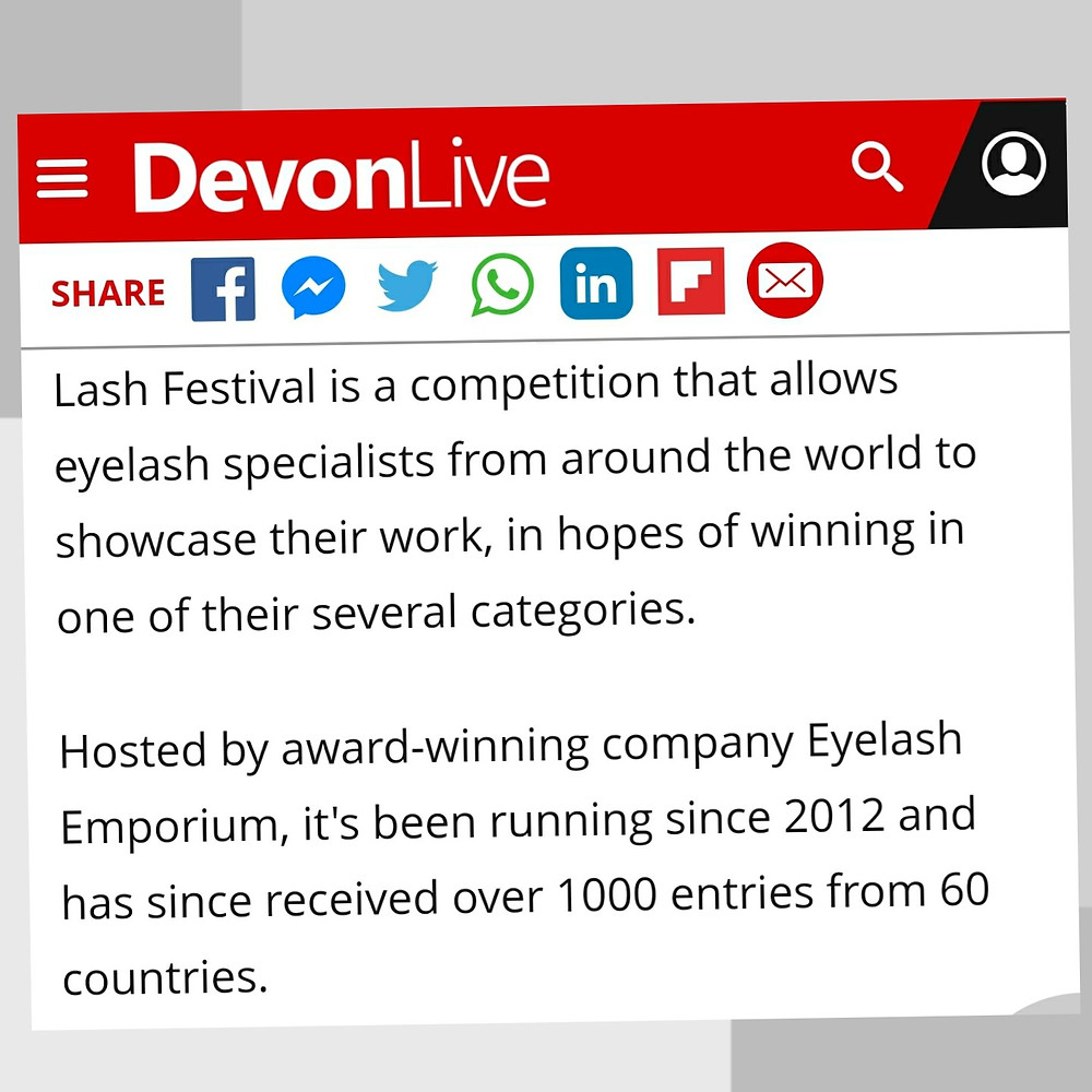 Finalist Entry to Lash Festival