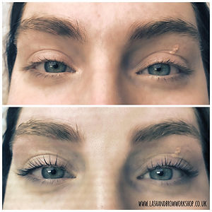 Lash & Brow Workshop in Torquay offers Lash Lift & Tint