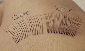 Lash & Brow Workshop | Torquay explaining the difference between Individual Classic & Russian Volume Eyelash Extensions.