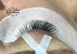 Before & After Russian Volume Lashes
