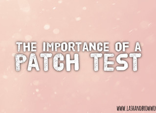 The Importance of a Patch Test