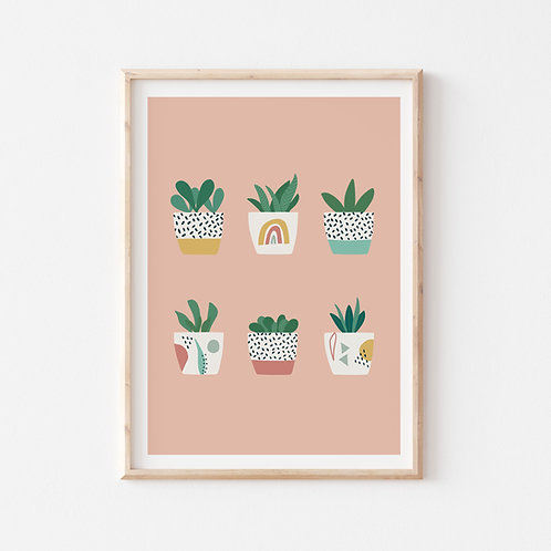 Mini Pots Print