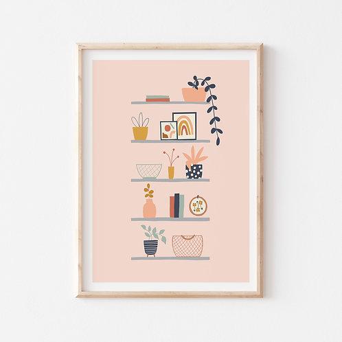Plant Shelfie Print
