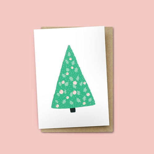Christmas Tree Card $6