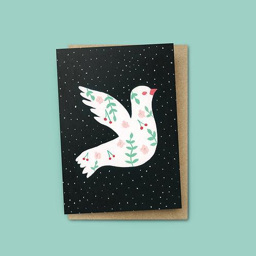 White Dove Card $6