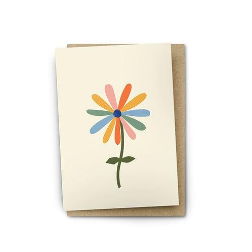 Flower Card $6