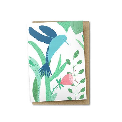 Hummingbird Card $6