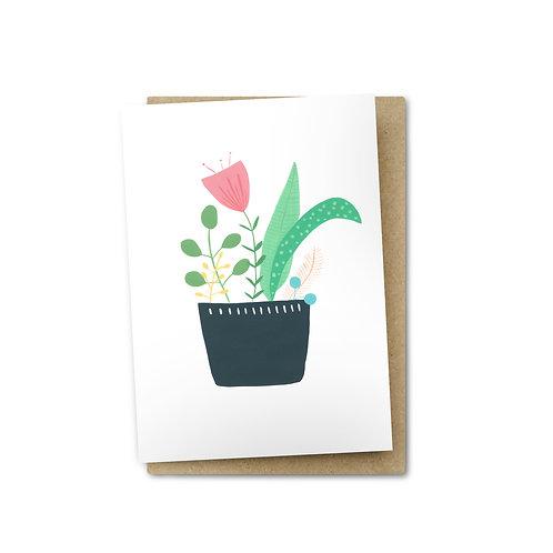 Pot Plant Card $6