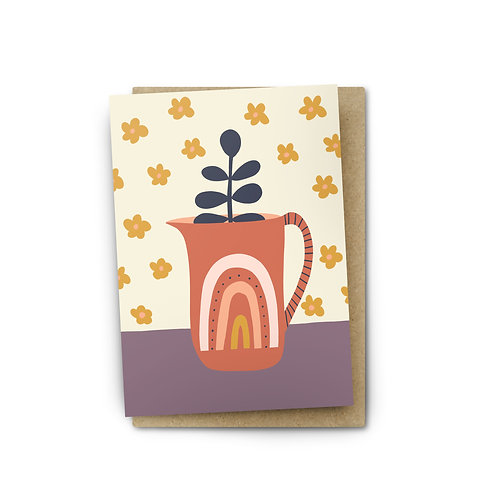Boho Kitchen Card $6