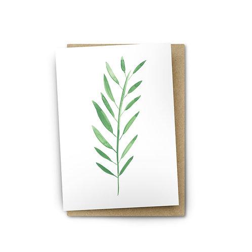 Leaf Card $6