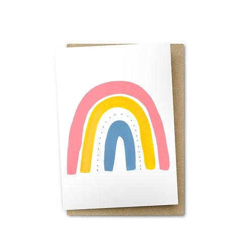 Rainbow Card $6