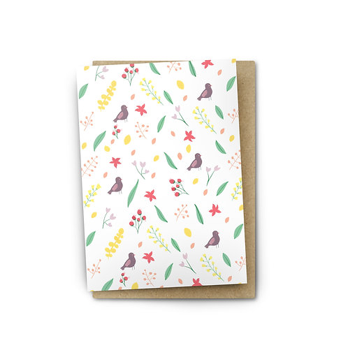 Spring Card $6