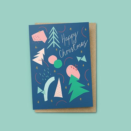 Happy Christmas Card $6