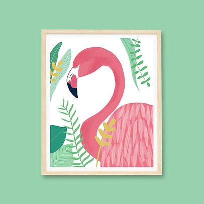 Flamingo Etsy 24x24 Frame.jpg