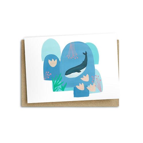 Deep in the Ocean Card
