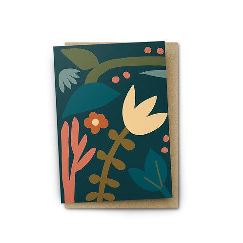 Botanical Card $6