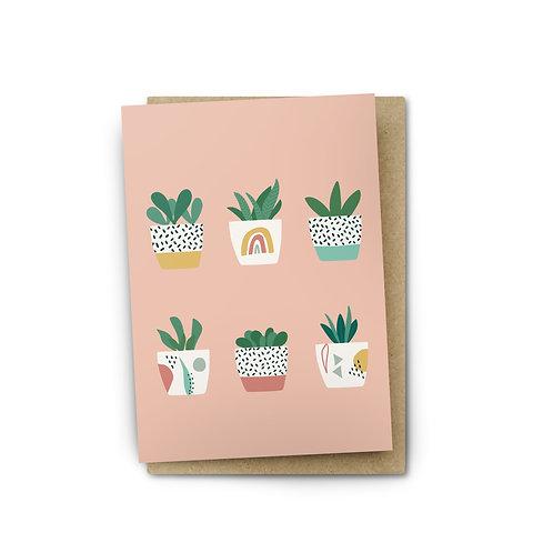 Mini Pots Card