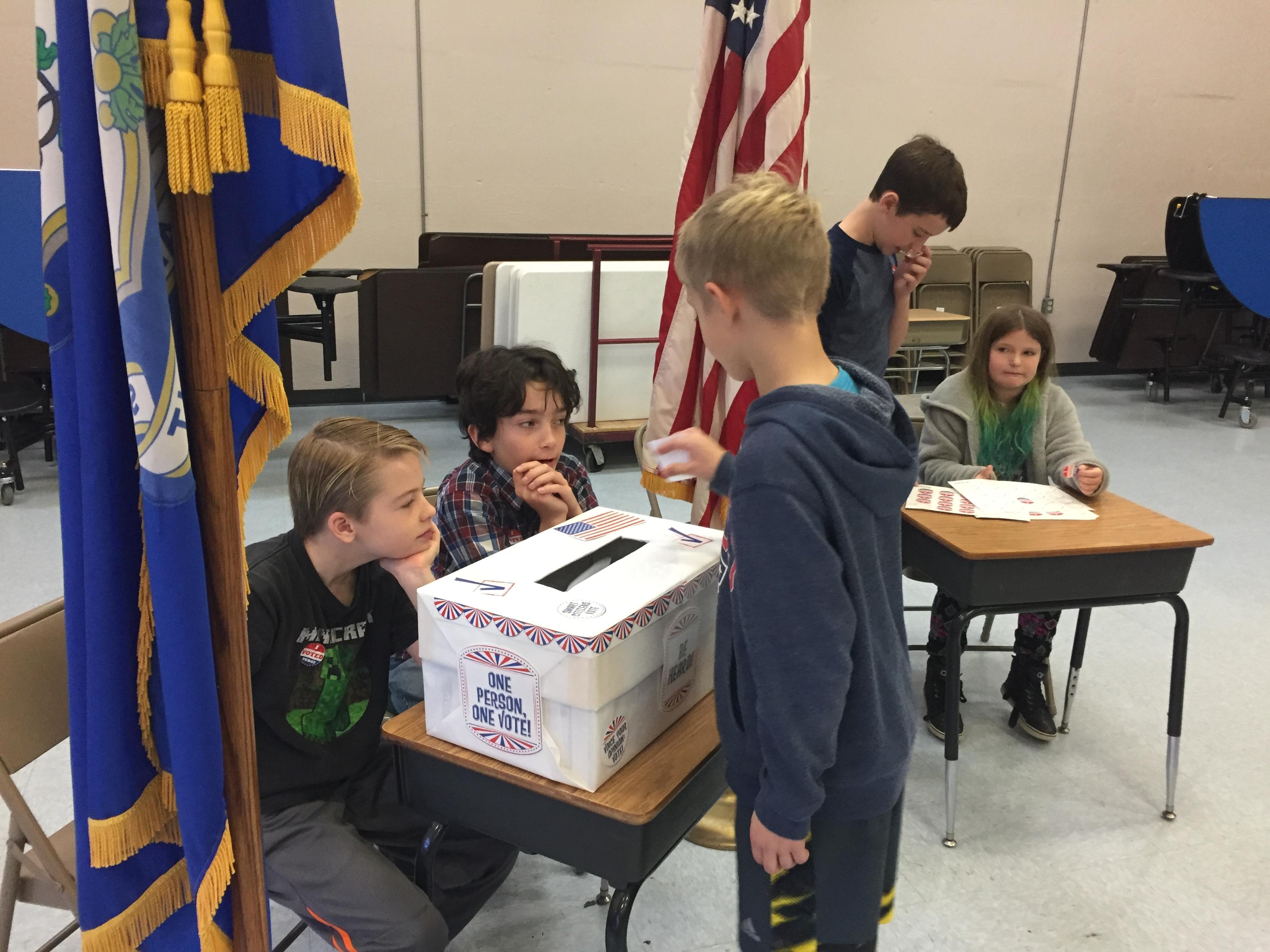 Hosting a school election