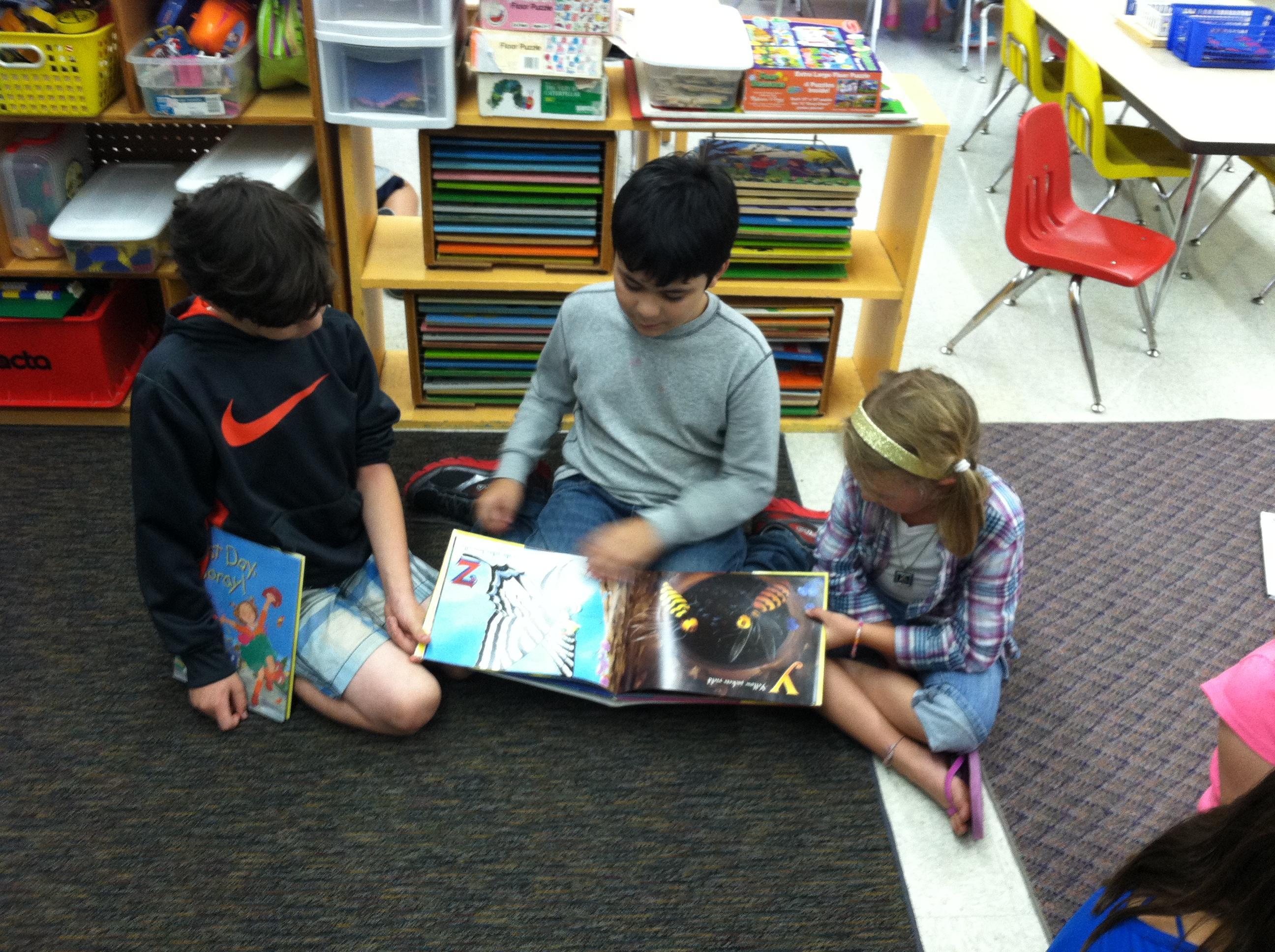 Kindergarten Reading Buddies