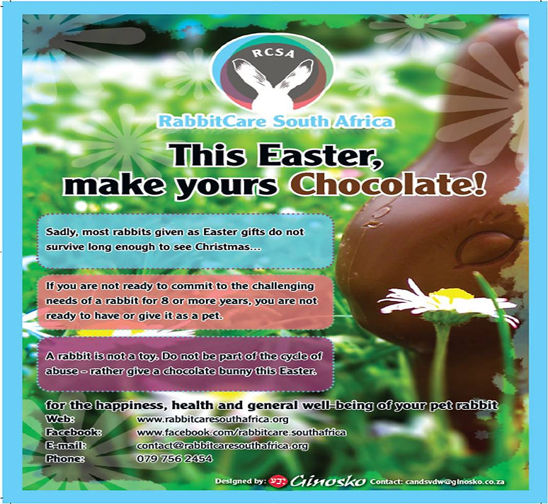 rabbit care,rcsa easter campaign