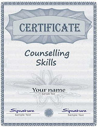 Certificate in counselling skills
