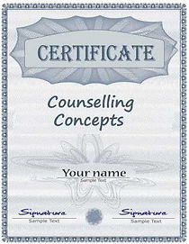 Certificate in counselling concepts
