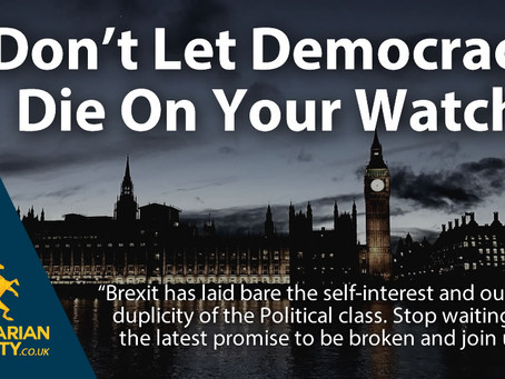 Don't Let Democracy Die On Your Watch