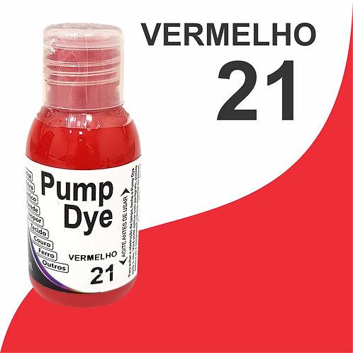 Pump Dye Vermelho 21