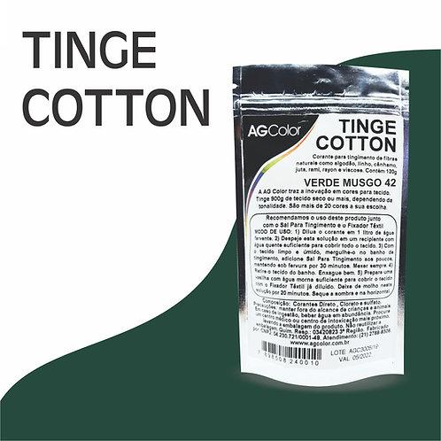 Tinge Cotton Verde Musgo 42 -120g