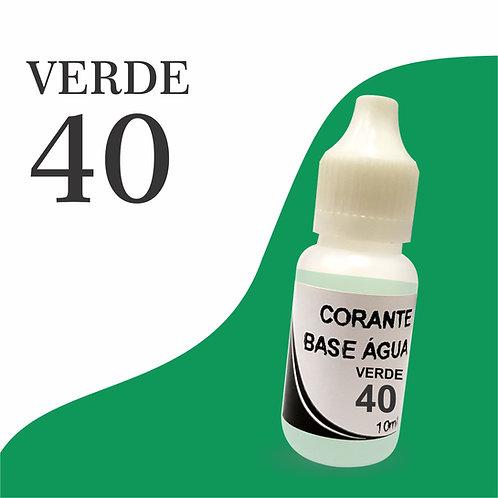 Corante Base Água - Verde 40