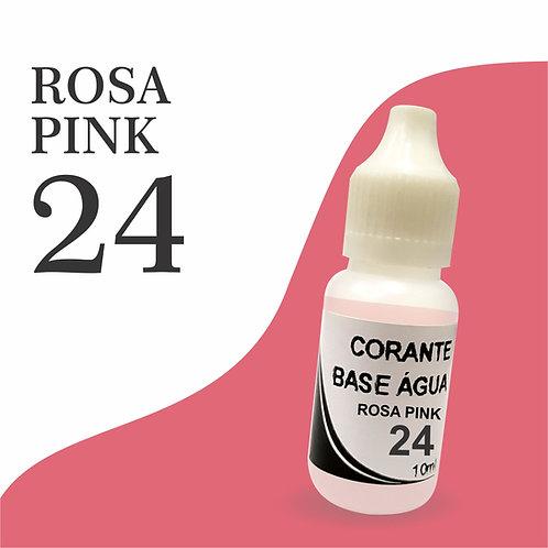 Corante Base Água - Rosa Pink 24