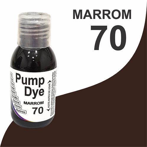 Pump Dye Marrom 70
