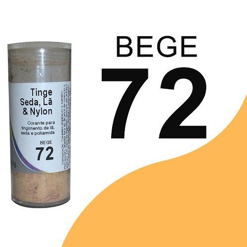Tinge Seda, Lã E Nylon Bege 72 - 40g